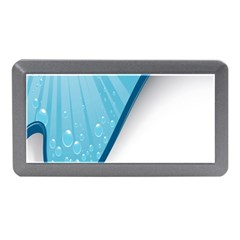 Water Bubble Waves Blue Wave Memory Card Reader (Mini)