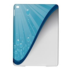 Water Bubble Waves Blue Wave iPad Air 2 Hardshell Cases