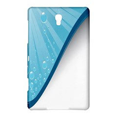 Water Bubble Waves Blue Wave Samsung Galaxy Tab S (8.4 ) Hardshell Case