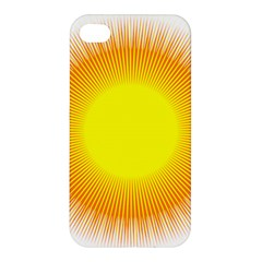 Sunlight Sun Orange Yellow Light Apple iPhone 4/4S Premium Hardshell Case