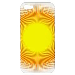 Sunlight Sun Orange Yellow Light Apple iPhone 5 Hardshell Case