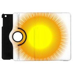 Sunlight Sun Orange Yellow Light Apple iPad Mini Flip 360 Case