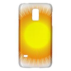 Sunlight Sun Orange Yellow Light Galaxy S5 Mini