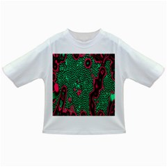 Reaction Diffusion Green Purple Infant/toddler T Shirts
