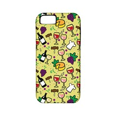 Wine Cheede Fruit Purple Yellow Apple Iphone 5 Classic Hardshell Case (pc+silicone)