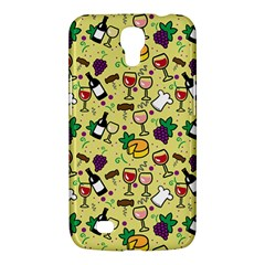Wine Cheede Fruit Purple Yellow Samsung Galaxy Mega 6.3  I9200 Hardshell Case