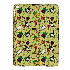 Wine Cheede Fruit Purple Yellow iPad Air 2 Hardshell Cases