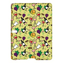 Wine Cheede Fruit Purple Yellow Samsung Galaxy Tab S (10.5 ) Hardshell Case
