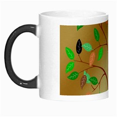 Tree Root Leaves Contour Outlines Morph Mugs