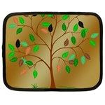 Tree Root Leaves Contour Outlines Netbook Case (XL)  Front