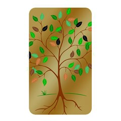 Tree Root Leaves Contour Outlines Memory Card Reader