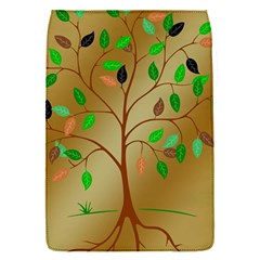 Tree Root Leaves Contour Outlines Flap Covers (S)