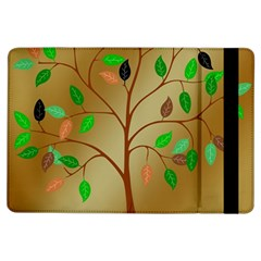 Tree Root Leaves Contour Outlines Ipad Air Flip