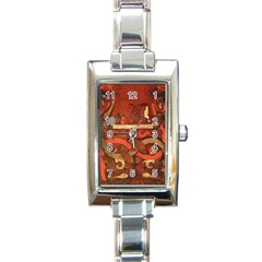 Works From The Local Rectangle Italian Charm Watch