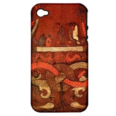 Works From The Local Apple iPhone 4/4S Hardshell Case (PC+Silicone)