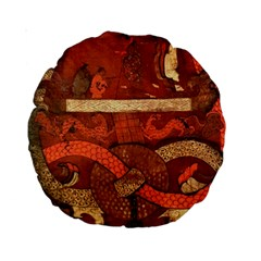 Works From The Local Standard 15  Premium Round Cushions