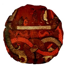 Works From The Local Large 18  Premium Flano Round Cushions