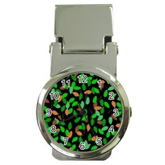 Leaves True Leaves Autumn Green Money Clip Watches
