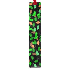 Leaves True Leaves Autumn Green Large Book Marks