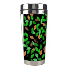 Leaves True Leaves Autumn Green Stainless Steel Travel Tumblers