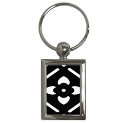 Pattern Background Key Chains (Rectangle)