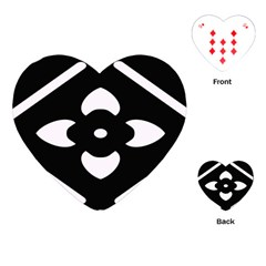Pattern Background Playing Cards (heart)