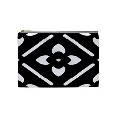 Pattern Background Cosmetic Bag (medium)