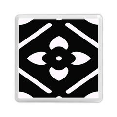 Pattern Background Memory Card Reader (square)