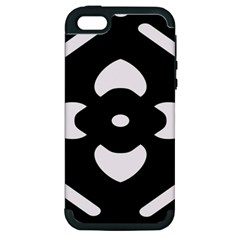Pattern Background Apple iPhone 5 Hardshell Case (PC+Silicone)