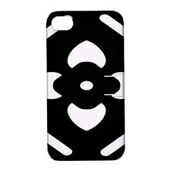Pattern Background Apple iPhone 4/4S Hardshell Case with Stand