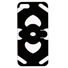 Pattern Background Apple iPhone 5 Hardshell Case with Stand