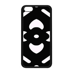Pattern Background Apple iPhone 5C Seamless Case (Black)