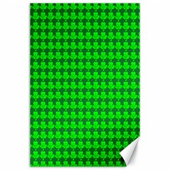 St  Patricks Day Green Canvas 24  x 36