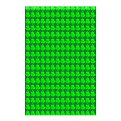 St  Patricks Day Green Shower Curtain 48  x 72  (Small)