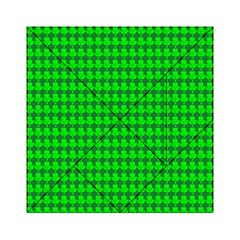 St  Patricks Day Green Acrylic Tangram Puzzle (6  x 6 )