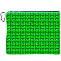 St  Patricks Day Green Canvas Cosmetic Bag (XXXL)