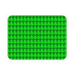 St  Patricks Day Green Double Sided Flano Blanket (Mini)
