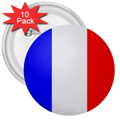 Shield on the French Senate Entrance 3  Buttons (10 pack)