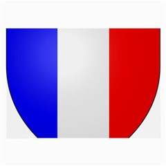 Shield on the French Senate Entrance Large Glasses Cloth (2-Side)