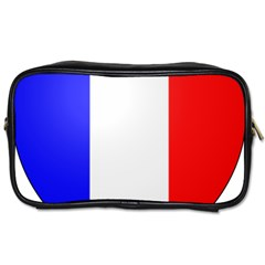 Shield On The French Senate Entrance Toiletries Bags 2 Side