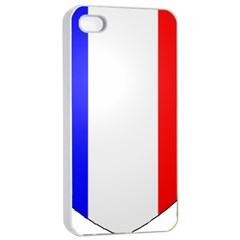 Shield on the French Senate Entrance Apple iPhone 4/4s Seamless Case (White)