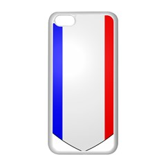 Shield on the French Senate Entrance Apple iPhone 5C Seamless Case (White)