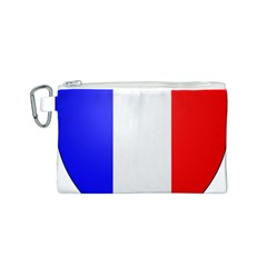 Shield on the French Senate Entrance Canvas Cosmetic Bag (S)