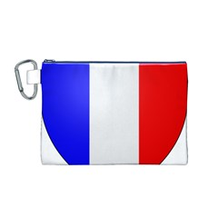 Shield on the French Senate Entrance Canvas Cosmetic Bag (M)