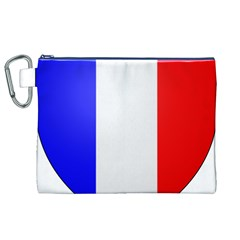 Shield on the French Senate Entrance Canvas Cosmetic Bag (XL)