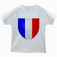 Shield on the French Senate Entrance Kids White T-Shirts