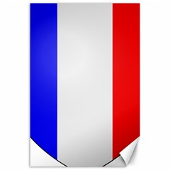 Shield on the French Senate Entrance Canvas 24  x 36