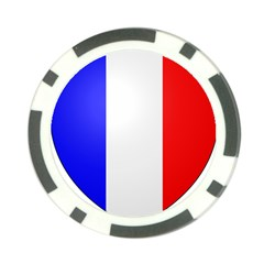 Shield on the French Senate Entrance Poker Chip Card Guard