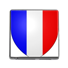 Shield on the French Senate Entrance Memory Card Reader (Square)