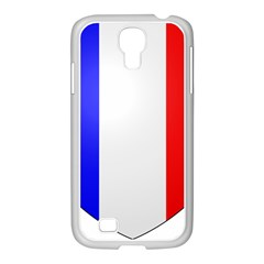Shield on the French Senate Entrance Samsung GALAXY S4 I9500/ I9505 Case (White)